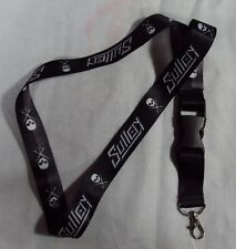 Sullen Pin Up Punk Street Gothic Devil Rockabilly Tattoo Skulls Lanyard SLICE
