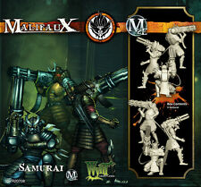 Malifaux Ten Thunders Samurai box plastic Wyrd miniatures 32 mm new