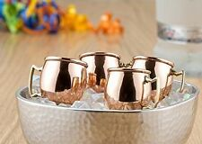 The Original Brand Moscow Mule Copper Plated Shot Glass 2 ounce Set of 4 Gift