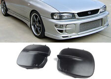 97-01 Impreza STI GC8 Fog Light Covers 2/5 Door Black PU Unpainted