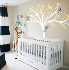 Wall Stickers large koala tree branch kids room vinyl decal decor