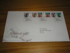 """2007 GB Stamps """" CHRISTMAS """" First Day Cover FDC - TALLENTS HOUSE Cancel"""