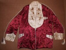 Post WW2 Japan Tour Souvenir Embroidered Kimono/Smoking Jacket Dragons Original