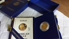 1991 American Eagle ONE-QUARTER OUNCEPROOF GOLD BULLION COIN