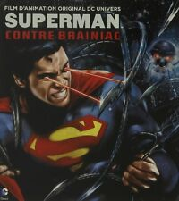 Superman Unbound - animated- Matt Bomer (White Collar) Blu-Ray+ DVD Steelbook