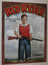 "Red Ryder America's Air Rifle It's A Daisy! Tin Sign 16""x12.5"" FREE Shipping"