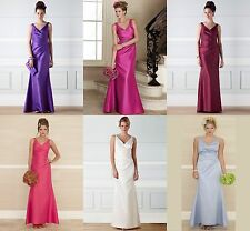 BHS Alicia Bridesmaid Dress Purple Fuchsia Coral Ivory Blue 8 10 12 14 16 18