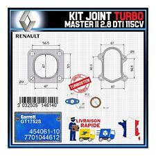 Joints Turbo 2.8 dTi 115 Cv Renault Master 7701044612 Garrett GT1752S 454061-10