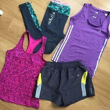 Sports Running Active Bundle H&M Adidas New Balance Leggings Shorts Size Small