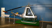 American XH-26 Jet Jeep XA-8 Helicopter Handcrafted Wood Model Regular New