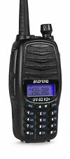 Baofeng UV-82 V2+ TRI-POWER (8 Watt) Two Way Dual-Band HAM Radio UHF/VHF FM Freq
