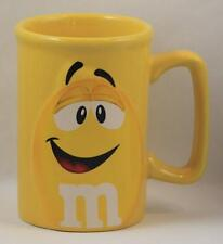 M&M Mug Cup Peanut Coffee Original Official Licensed Product Yellow  2011