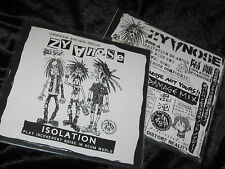 "ZYANOSE Isolation 7"" EP japanese noise punk/crasher crust confuse gloom d-clone"
