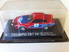 TRIUMPH TR7 V8 TONY POND RALLYE MANX 1978 WRC RALLY 1/43 RAC