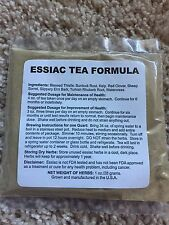 ESSIAC TEA ORGANIC 8 HERB FORMULA HIGHEST QUALITY 1 OZ PKT Buy 4oz get 1oz free