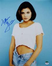 Tiffani Amber Thiessen Signed Beverly Hills 90210 16x20 Photo PSA/DNA Y10883