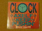 CLOCK - AXEL F KEEP PUSHIN - CD SINGLE