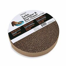 Bergan Turbo Scratcher Replacement Pads, 2 Pack - Cat Scratch Scratching Toy