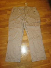 cotton traders outdoor pale mink trousers size 26 leg 31 brand new with tags