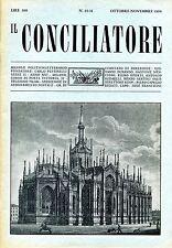 IL CONCILIATORE N.10-11 OTTOBRE-NOVEMBRE 1968 Nencioni Durando Capello de Turris