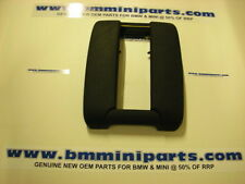 BMW E39 CENTRE ARMREST FOR TELEPHONE BLACK 51168213868