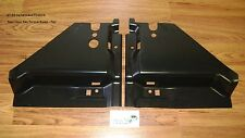 Rear Floor Pan Torque Boxes Pair Leaf Spring Brace frame rail 67 68 69 Camaro