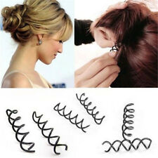 10pcs Spiral Spin Screw Bobby Pin Hair Clip Twist Barrette