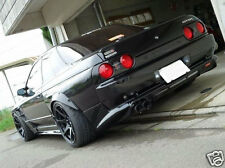 BOLT ON FENDER WHEEL GUARD FLARES FOR NISSAN R31/R32/R33/R34/V35 FLEXI PLASTIC