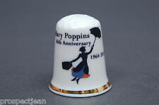 Mary Poppins 50th Anniversary 1964-2014 China Thimble B/124