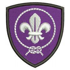 BOY scout a stemmi ricamati, ricamate, aufbügler, QUALITÀ SUPER