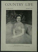 Beatrice Chauvel Daughter Of French Ambassador London 1957 1 Page Photo Article