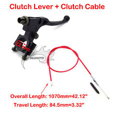 Clutch Lever Cable Red For 50cc 90 125cc Pit Dirt Bike CRF50 KLX Lifan Thumpstar