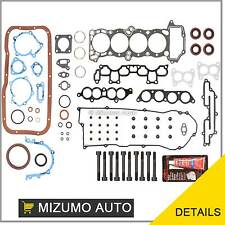 Fits 95-99 Nissan 200SX Sentra 1.6L DOHC GA16DE Full Gasket Set + Head Bolts