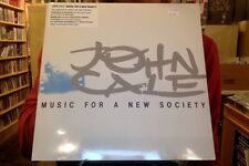 John Cale Music for a New Society LP sealed 180 gm vinyl + download RE reissue