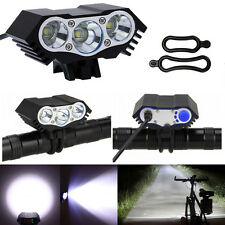 10000Lm 3 xCREE T6 LED Cycling Bicycle Head Light Lamp Headlamp US Free Shipping