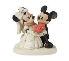 Precious Moments Disney Mickey & Minnie You Are My Fairy Tale Figurine #153706