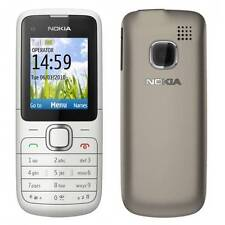 Phone Nokia C1-01 Warm Grey NEW & OVP Without Contract Sim lock
