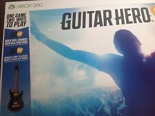 Guitar Hero Live XBOX 360 guitar & game included. New & sealed PAL. Free UK post