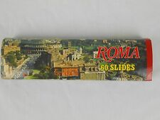 Roma 60 Slides Color Kodak Film Rome Italy Travel Souvenir Vintage