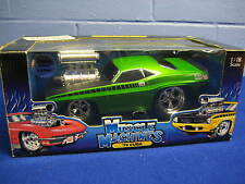 MUSCLE MACHINES 70 CUDA 1:18 SCALE - NEW IN BOX !