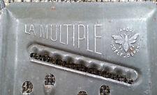 """Ancienne mandoline de cuisine """"la multiple""""  déco cuisine vintage french antique"""