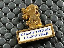 PINS PIN BADGE CAR PEUGEOT LOGO CAGNES SUR MER