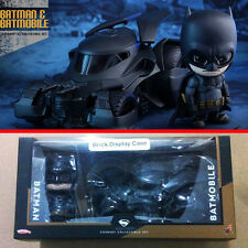 New Hot Toys Batman v Superman Dawn of Justice Cosbaby Batman & Batmobile Set vs