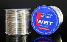 WBT -0825  73meter 0.8mm 3.8% Ag silver Solder free shipping to worldwide 1pcs