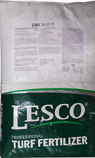 "Lesco 24-2-11 St. Augustine Lawn Fertilizer ""6% Iron"" - 50 Lbs. (12,000 sq. ft.)"