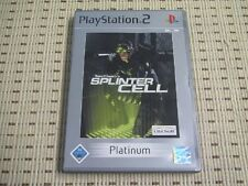 Splinter Cell para PlayStation 2 ps2 PS 2 * embalaje original * p