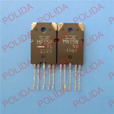 1pair Transistor SANKEN TO-3PL-5 MN15N-NO/MP15P-PO MN15N/MP15P