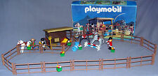 PLAYMOBIL 3855 PONY HORSE RANCH CHAMPIONS ARENA, BOX DISCONTINUED VGC