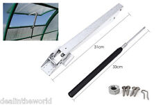 Automatic Temperature Controlled Greenhouse Window Vent Opener Top Set Kit