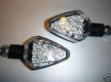 4X LED Black STAR Turn signal HUSABERG 550 FC 550/4/6,FES 600 E,FX600,FC 4000